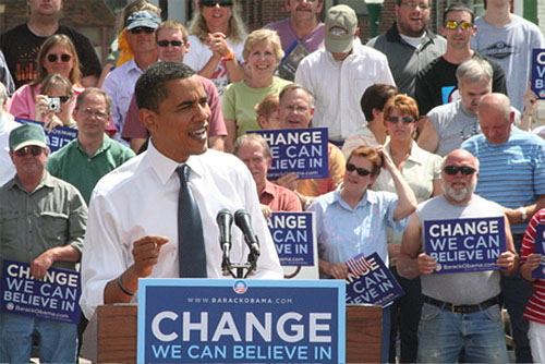 Obama Campaign E-Mail: 'Hell No' To First Amendment