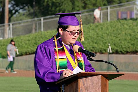 CA Valedictorian Gives Speech in Spanish