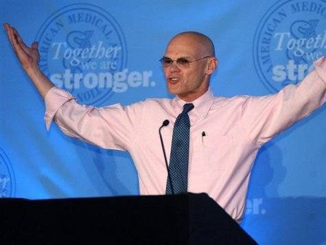 James Carville: Hillary Clinton Has the 'Perfect Message' for 2016