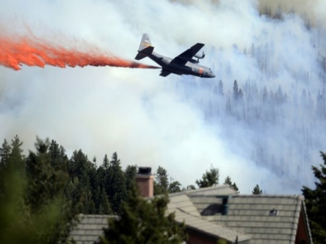 Air Tanker Fleet Down 75% from 2006; Insufficient to Battle CO Wildfires