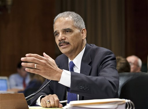 Eric Holder Cries To The Washington Post