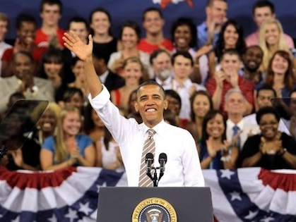 Despite Unemployment Numbers, Young Voters Standing by Obama