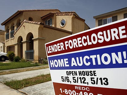 CA's Foreclosure Rate Leads Country