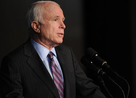 McCain Won't Join Dems on Campaign Reform