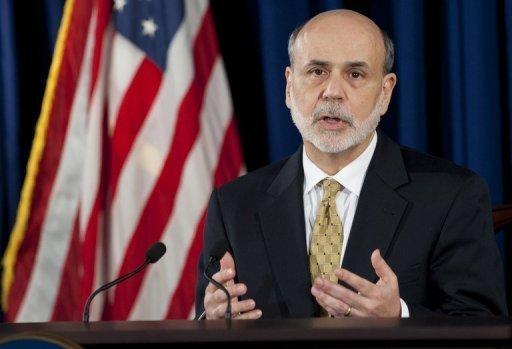 Bernanke delivers gloomy report on economy