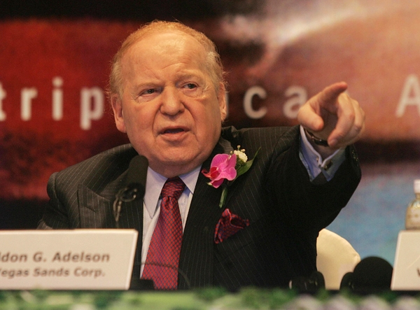 The Price of Conservatism: Ask Gibson Guitar and Sheldon Adelson