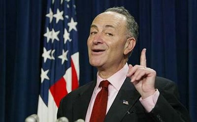 Chuck Schumer Orders Bernanke to Print More Money to Re-Elect Obama