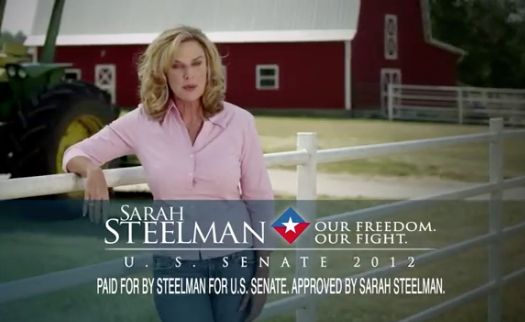 EXCLUSIVE: Palin Stars In TV Ad For Missouri Senate Candidate Sarah Steelman