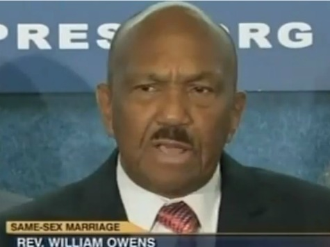 Black Pastor Slams Obama Conflating Civil Rights with Same-Sex Marriage