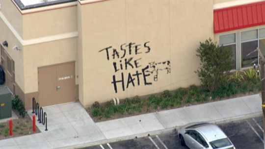 And So It Begins: Chick-Fil-A Vandalized