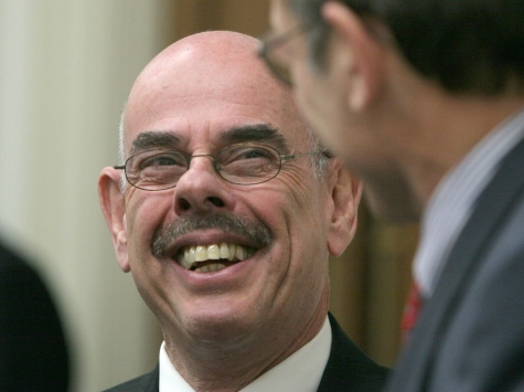 Henry Waxman Hits Obama over Transparency