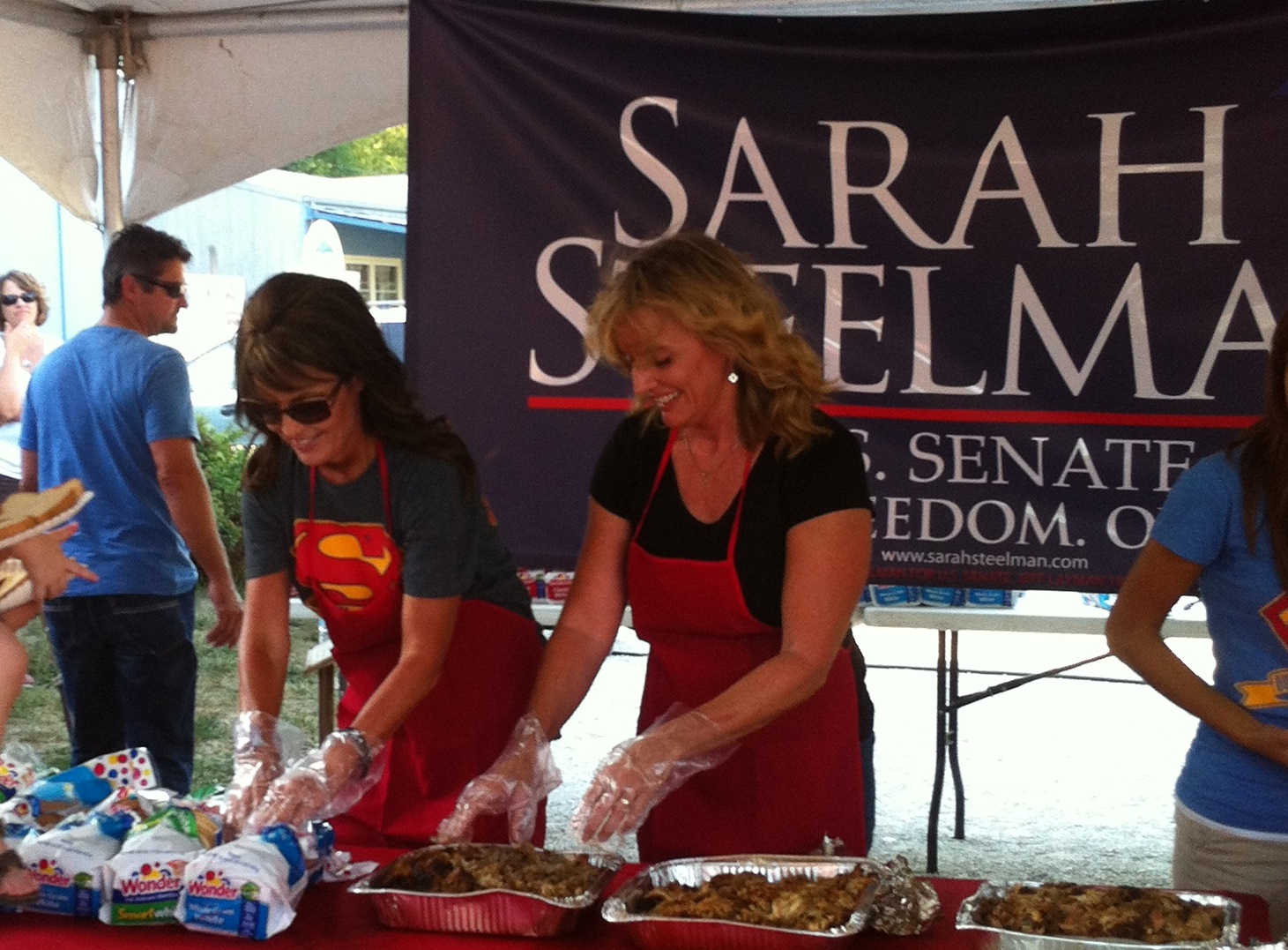 Palin Campaigns with Missouri Senate Candidate Sarah Steelman