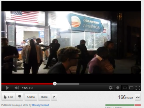 Video Shows Occupy Vandals Smashing Windows at Obama Campaign Headquarters