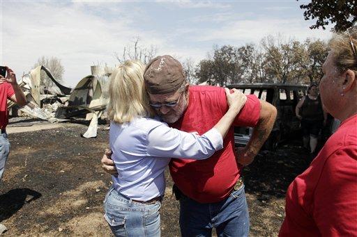 Fire Risk Still High in Okla.; 1 Blaze Contained