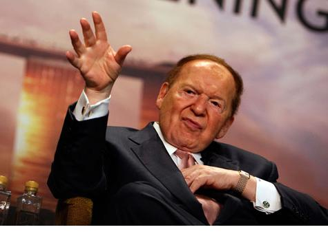 Adelson: From Caricature to Real Life