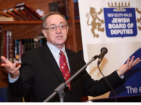 Dershowitz: David Harris Must Step Down from National Jewish Democratic Council