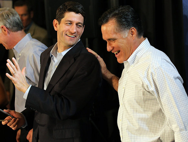 Good PR: Mitt Romney Taps Paul Ryan for Vice President