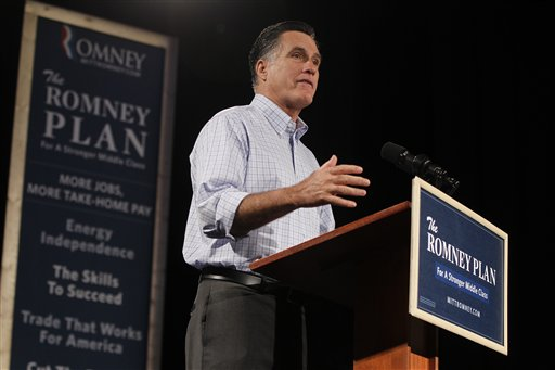 Tough talk: Romney is looking to shift campaign