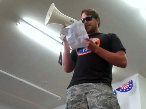 Protesters Brawl with Obama Campaign Staffers