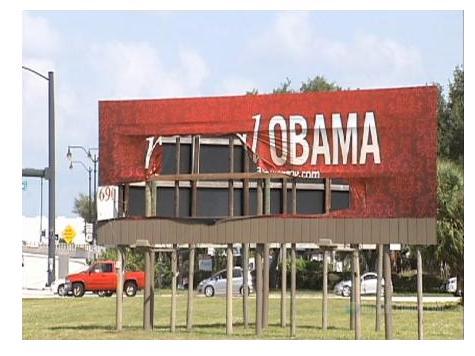 'Repeal Obamacare' Billboard Vandalized