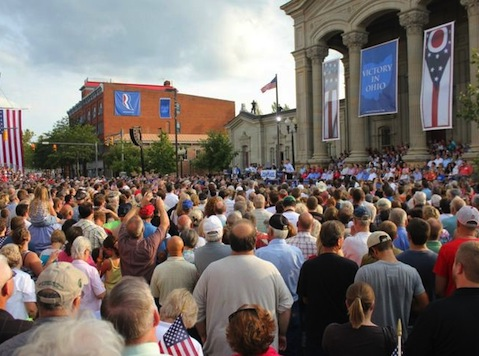 Huge Ohio Crowds Greet GOP Wunderkind Running In Nation's Most Critical Senate Race