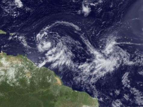 Tropical Storm Isaac on GOP Convention Radar
