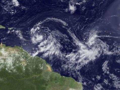 Tropical Storm Isaac on GOP Convention Radar