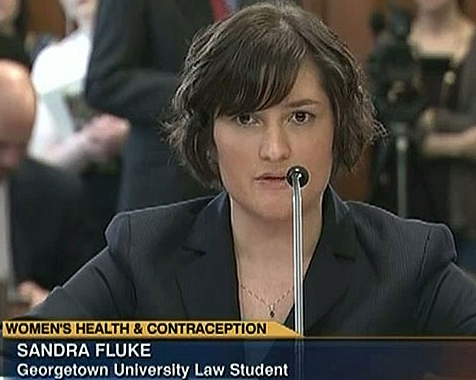 Obama Surrogate Sandra Fluke Shills for Campaign Cash
