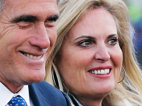 Ann Romney: 'This Man Will Lift Up America'