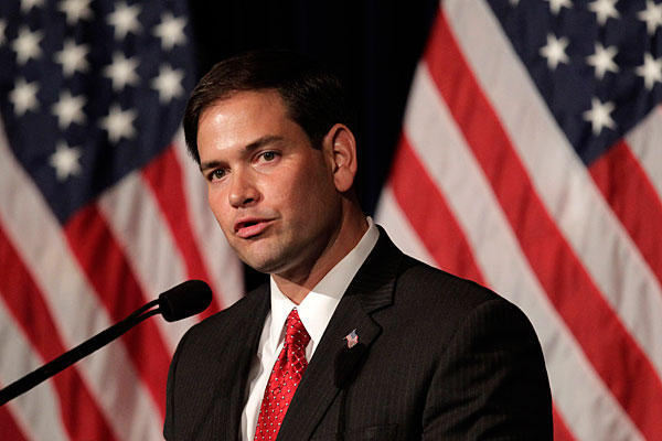 Exclusive: Rubio Fires Back At DNC's 'Brown People' Slur