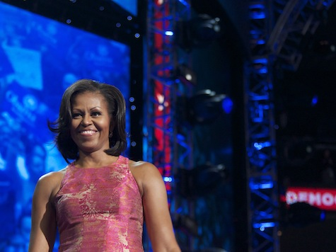 Michelle Gives the Unity Speech Barack No Longer Can