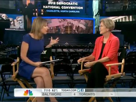Warren: 'Romney Says' He Plans to Increase Taxes on Middle Class