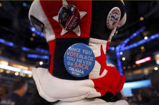 Racism Alert: 'Vote Black' Buttons At The DNC