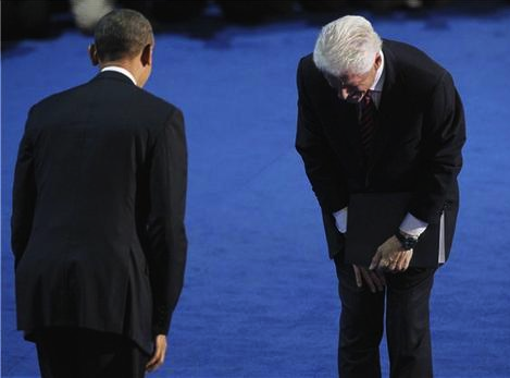Obama, 2008: 'Yes, We Can!' Clinton, 2012: 'No One Could Have'