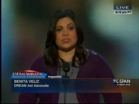 DREAM Act Beneficiary Speaks at DNC