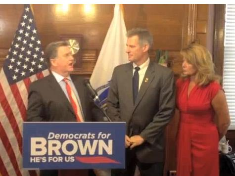 Mass. Dem State Rep Endorses Scott Brown