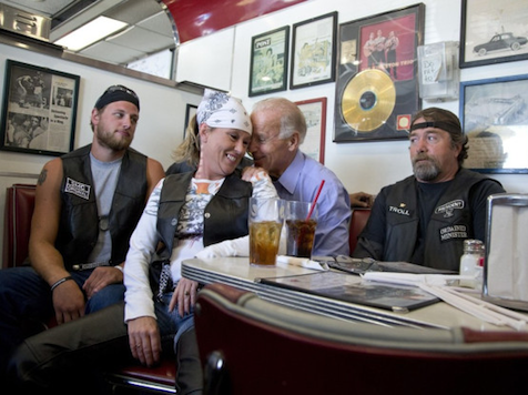 Obama/Biden Cozy Up To Blue Collar Voters