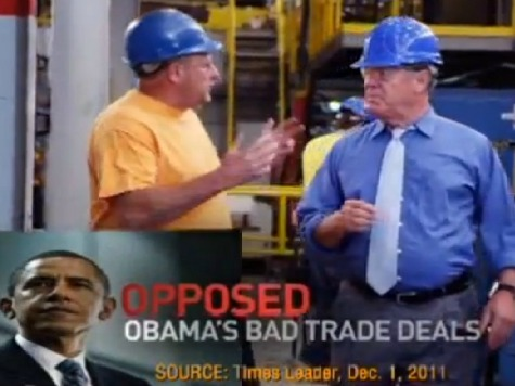 Ohio Dem Candidate Campaigns Against Obama, Pelosi