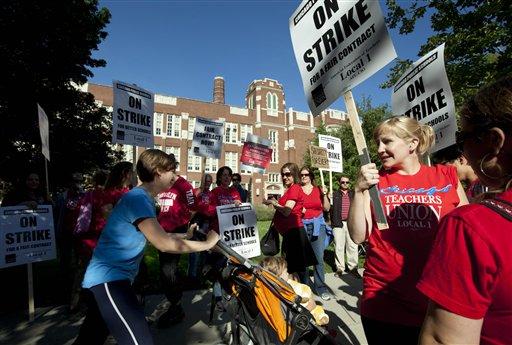 Chicago Teacher Strike Poses Test for Unions