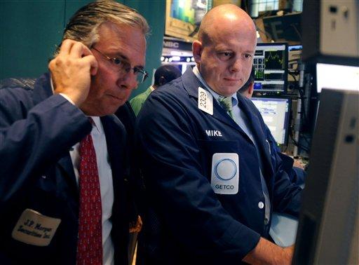 Market mood sours after downbeat economic news