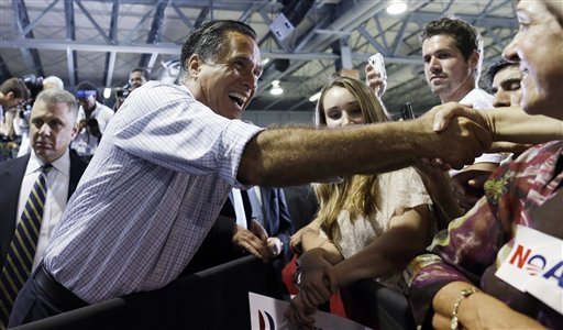 Tax Returns: Romneys Gave More than Obamas