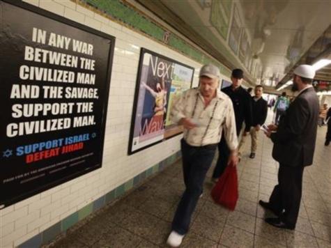 'Savage' Jihad Ad Debuts in New York City Subway