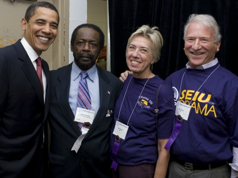 Book Reveals Extent of Obama Admin-SEIU Relationship