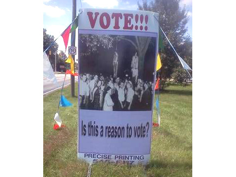 Black Church Uses Lynching Photos to Get Out the Vote