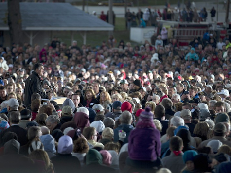 Romney at Huge Ohio Rally: 'Four More Weeks!'