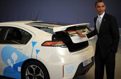 Obama Touts Auto Industry Bailout