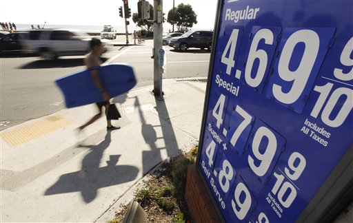 More Expensive Gas Pushes US Consumer Prices Up