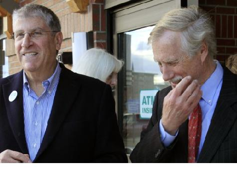 Three Wall Street Billionaires Chip In To Save Angus King