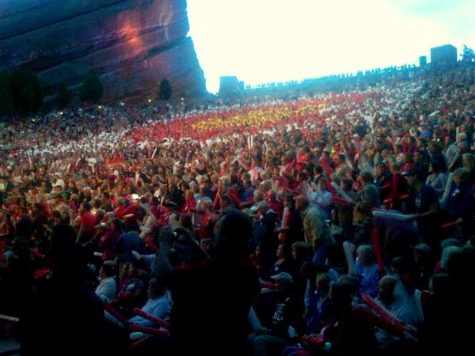 Romney Addresses Crowd of Over 10,000 in Colorado