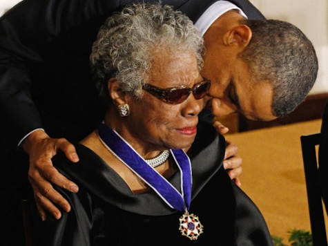 Obama Campaign Trots Out Maya Angelou